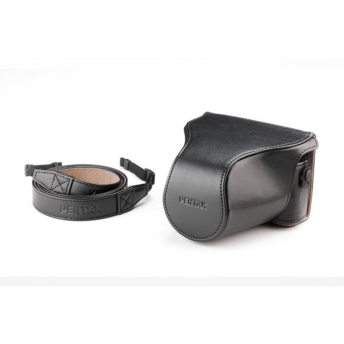 《新品アクセサリー》 PENTAX(ペンタックス) カメラケース(フロント付) O-CC1512 ブラック【KK9N0D18P】〔メーカー取寄品〕 [ カメラケース ]