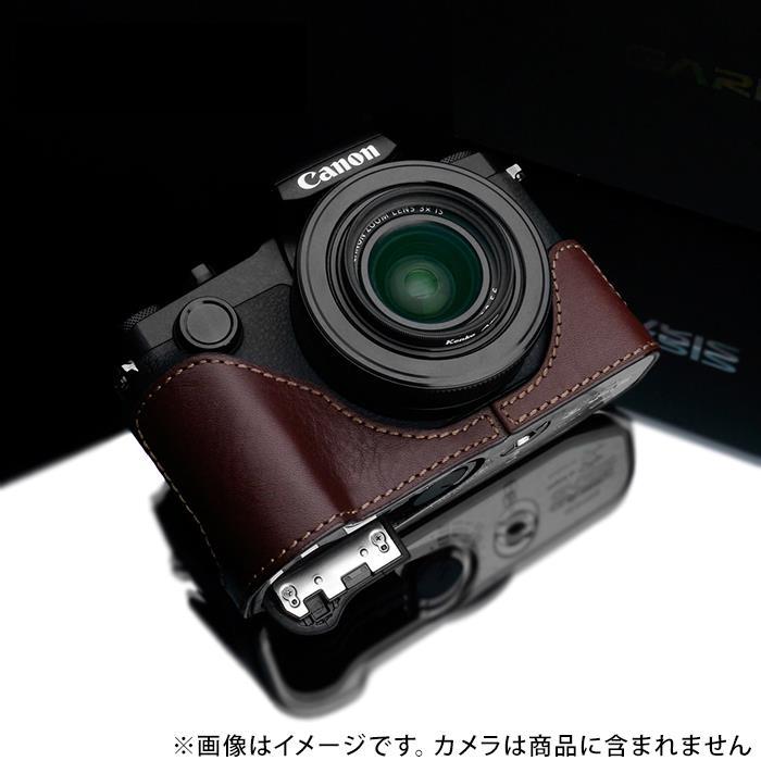 《新品アクセサリー》 GARIZ (ゲリズ) キヤノン PowerShot G1X Mark III用ケース XS-G1XM3BK ブラウン〔メーカー取寄品〕【KK9N0D18P】