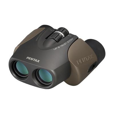 《新品アクセサリー》 PENTAX (ペンタックス) 双眼鏡 UP 8-16×21 ブラウン【KK9N0D18P】〔メーカー取寄品〕