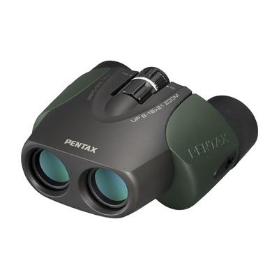 《新品アクセサリー》 PENTAX (ペンタックス) 双眼鏡 UP 8-16×21 グリーン【KK9N0D18P】〔メーカー取寄品〕
