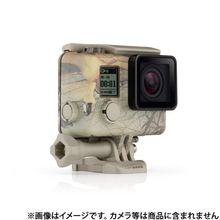 《新品アクセサリー》 GoPro (ゴープロ) カモフラージュハウジング+Quickclip (Realtree Xtra) AHCSH-001 【KK9N0D18P】