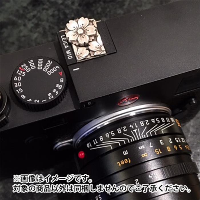 《新品アクセサリー》 JAY TSUJIMURA (ジェイ・ツジムラ) ホットシューカバーBlooming Sakura Leica M10用 JP-721M10 (Leica M10専用)【KK9N0D18P】