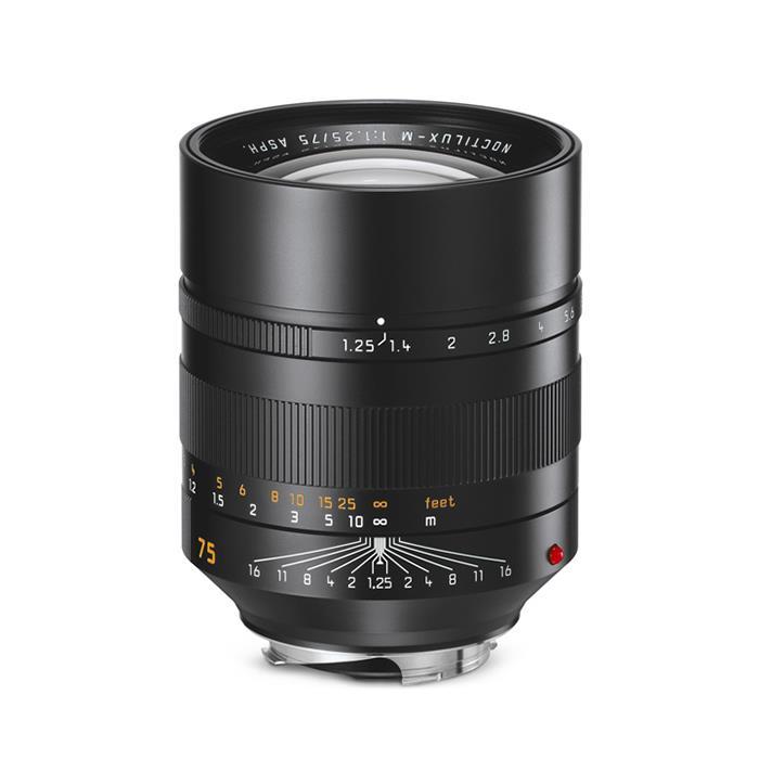 《新品》 Leica (ライカ) ノクティルックス M75mm F1.25 ASPH.[ Lens | 交換レンズ ]【KK9N0D18P】