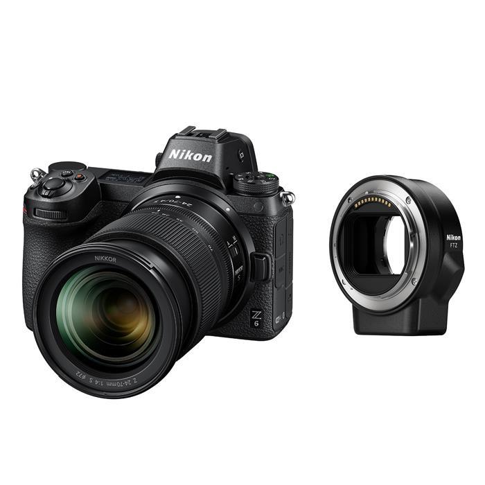 《新品》 Nikon (ニコン) Z6 24-70 + FTZマウントアダプターキット[ ミラーレス一眼カメラ | デジタル一眼カメラ | デジタルカメラ ]【KK9N0D18P】【キャッシュバック対象】