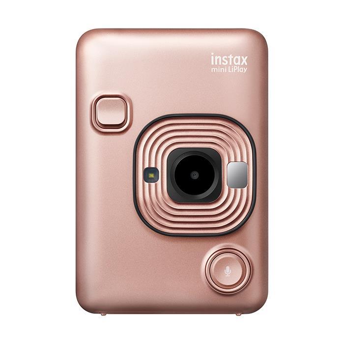 《新品》FUJIFILM (フジフイルム) ハイブリッドインスタントカメラ チェキ instax mini LiPlay ブラッシュゴールド 【KK9N0D18P】【¥2,000-キャッシュバック対象】