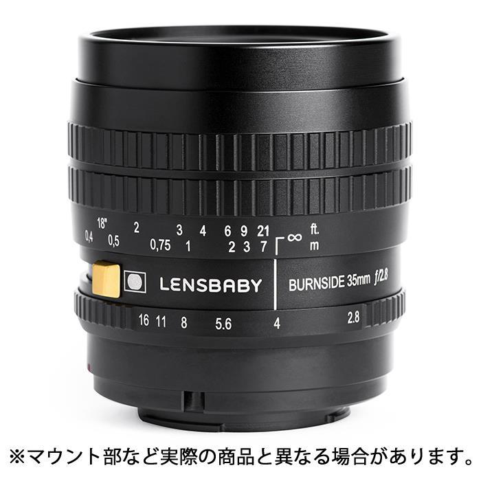 《新品》 Lensbaby (レンズベビー) Burnside 35 35mm F2.8(ソニーE用/フルサイズ対応)[ Lens | 交換レンズ ]【KK9N0D18P】【¥4,000-キャッシュバック対象】