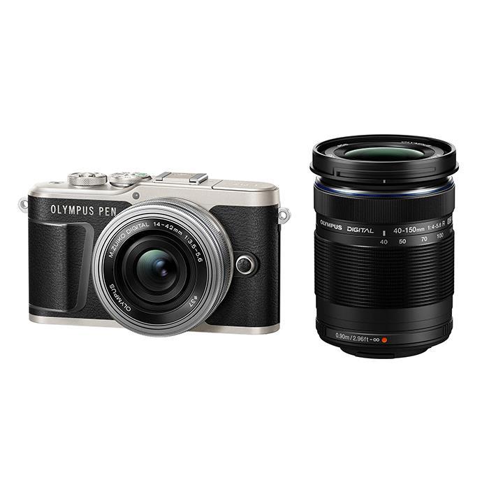 【あす楽】《新品》OLYMPUS (オリンパス) PEN E-PL9 EZダブルズームキット ブラック【¥10,000-キャッシュバック対象】[ ミラーレス一眼カメラ | デジタル一眼カメラ | デジタルカメラ ] 【KK9N0D18P】