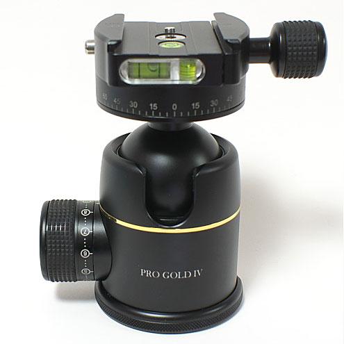 【あす楽】《新品アクセサリー》 photoclam(フォトクラム) 46mm プレミアム ボールヘッド雲台 Pro Gold IV Easy PQRS ブラック【特価品/在庫限り】〔アルカスイス互換〕【KK9N0D18P】