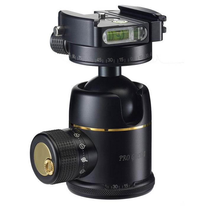 【あす楽】《新品アクセサリー》 photoclam(フォトクラム) 38mm プレミアム ボールヘッド雲台 Pro Gold II Easy PQR ブラック【特価品/在庫限り】〔アルカスイス互換〕【KK9N0D18P】