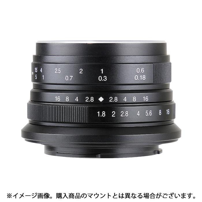 《新品》 七工匠 (しちこうしょう) 7artisans 25mm F1.8 (EOS M用) ブラック[ Lens | 交換レンズ ]【KK9N0D18P】
