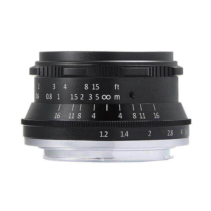 《新品》七工匠 (しちこうしょう) 7Artisans 35mm F1.2 ブラック(キヤノンEF-M用)[ Lens | 交換レンズ ]【KK9N0D18P】