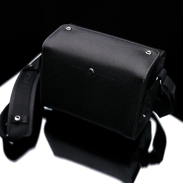 《新品アクセサリー》 GARIZ(ゲリズ) レザーミニバッグ BL-ZBS ブラック【KK9N0D18P】〔メーカー取寄品〕