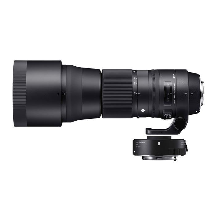 《新品》 SIGMA(シグマ) C 150-600mm F5-6.3 DG 1.4xテレコンバーターキット(キヤノン用) [ Lens | 交換レンズ ]【KK9N0D18P】