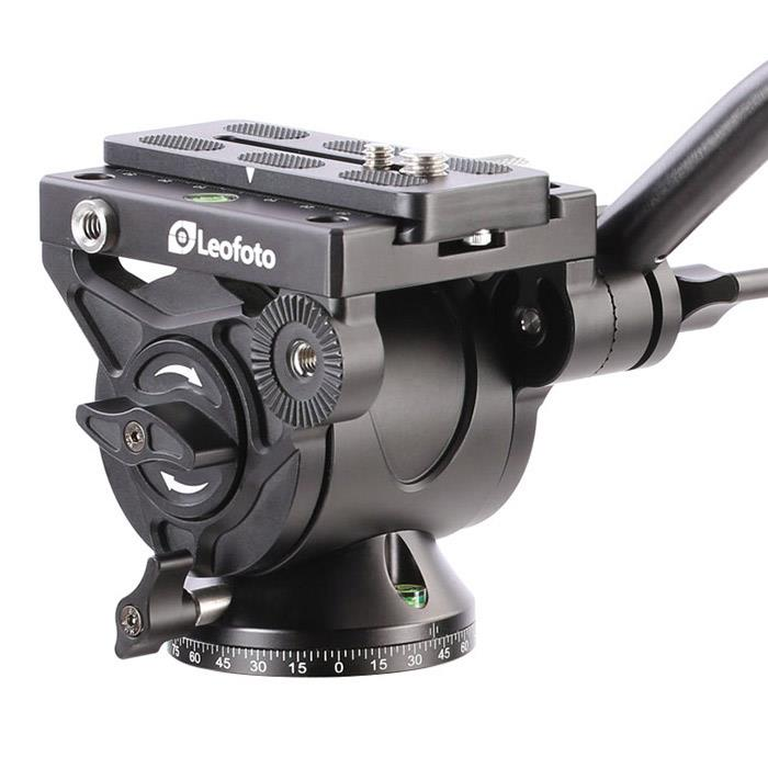 《新品アクセサリー》 Leofoto (レオフォト) コンパクト軽量ビデオ雲台 BV-10 [最大耐荷重: 30kg ]【KK9N0D18P】