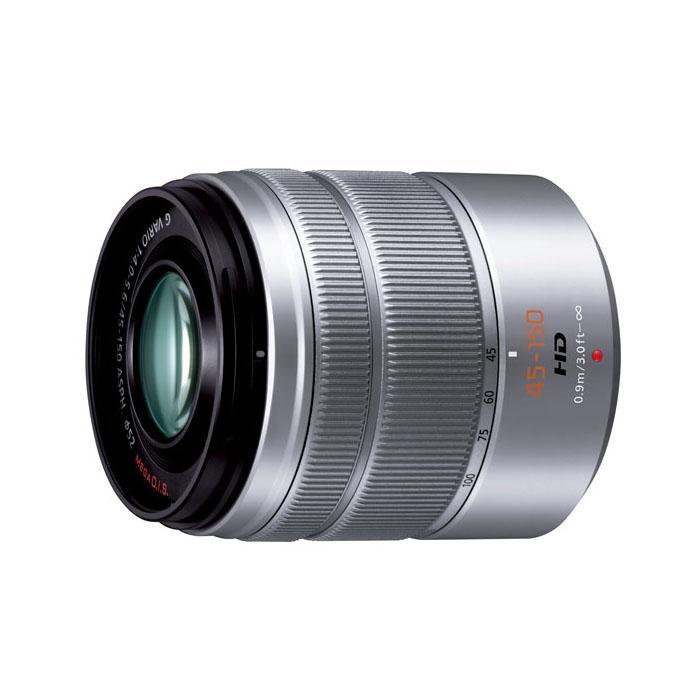 《新品》 Panasonic(パナソニック)LUMIX G VARIO 45-150mm F4.0-5.6 ASPH. MEGA O.I.S. シルバー[ Lens | 交換レンズ ] 【KK9N0D18P】