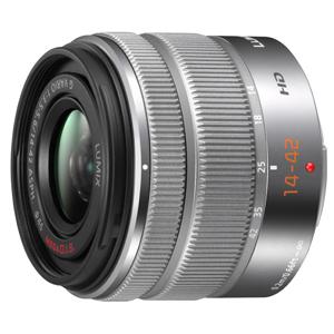 《新品》 Panasonic(パナソニック) LUMIX G VARIO 14-42mm F3.5-5.6II ASPH. MEGA O.I.S. シルバー[ Lens | 交換レンズ ]【KK9N0D18P】