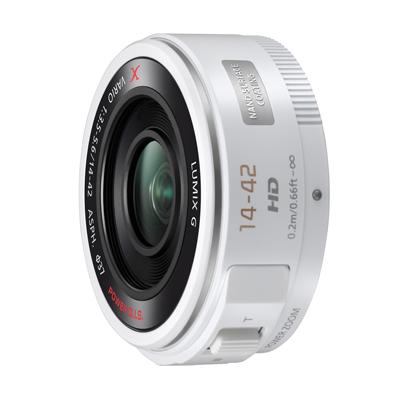 《新品》 Panasonic(パナソニック)LUMIX G X VARIO PZ 14-42mm F3.5-5.6 ASPH. POWER O.I.S. ホワイト[ Lens | 交換レンズ ]【KK9N0D18P】