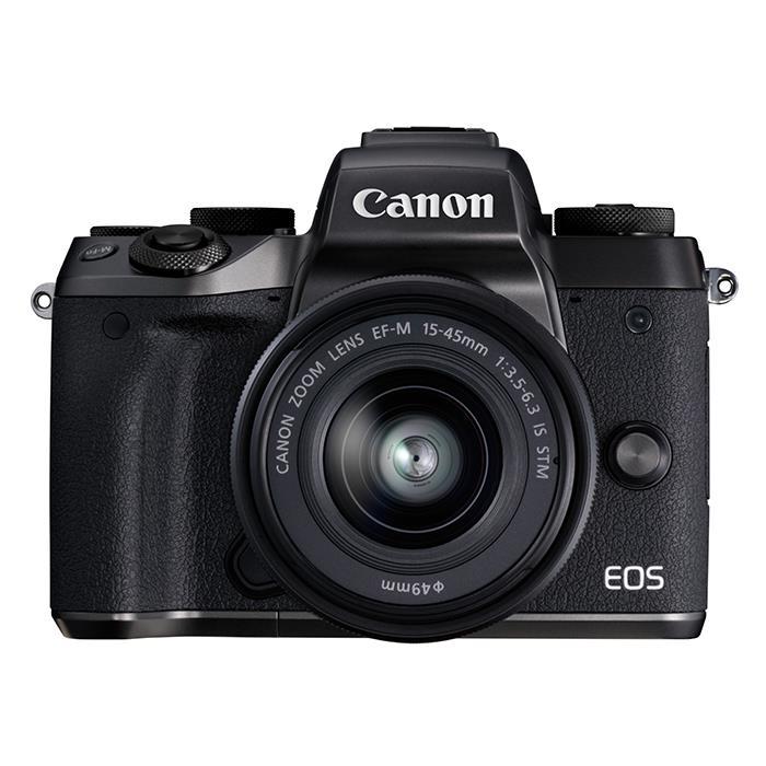 《新品》 Canon (キヤノン) EOS M5 EF-M15-45 IS STM レンズキット[ ミラーレス一眼カメラ   デジタル一眼カメラ   デジタルカメラ ]【KK9N0D18P】