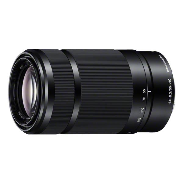 《新品》 SONY(ソニー) E 55-210mm F4.5-6.3 OSS SEL55210 ブラック [ Lens | 交換レンズ ]【KK9N0D18P】
