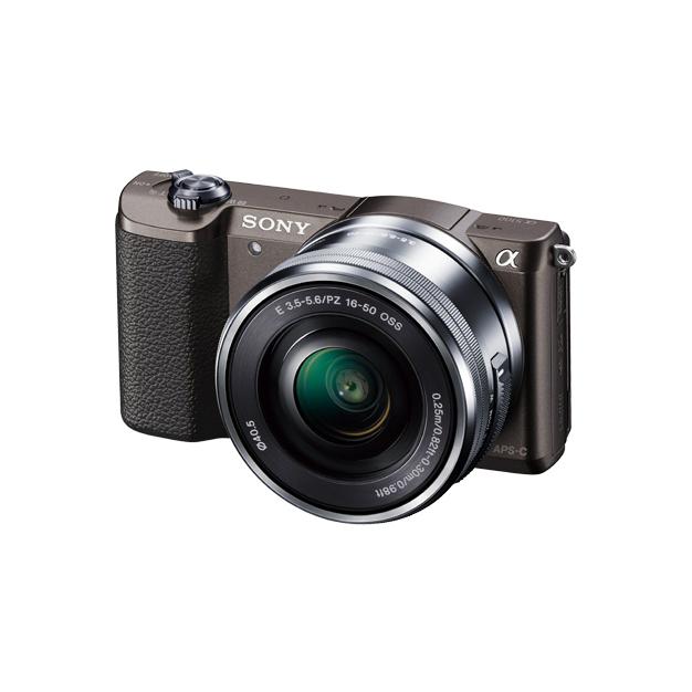 《新品》 SONY(ソニー) α5100パワーズームレンズキット ILCE-5100L ブラウン 【¥5,000-キャッシュバック対象[ ミラーレス一眼カメラ | デジタル一眼カメラ | デジタルカメラ ]【KK9N0D18P】