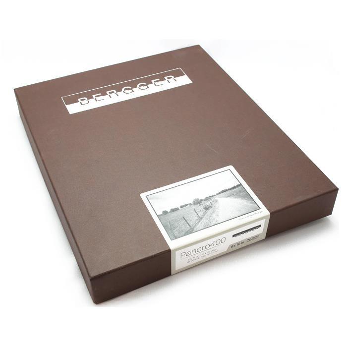 《新品アクセサリー》Bergger (ベルゲール) Paancro 400 - 8x10 inch / 25シート〔メーカー取寄品〕【KK9N0D18P】