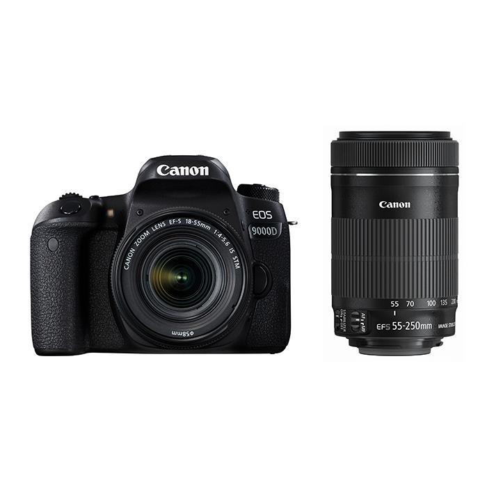 《新品》 Canon (キヤノン) EOS 9000D ダブルズームキット [ デジタル一眼レフカメラ | デジタル一眼カメラ | デジタルカメラ ]【KK9N0D18P】
