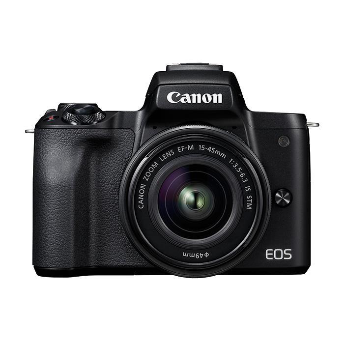 《新品》 Canon (キヤノン) EOS Kiss M EF-M15-45 IS STM レンズキット ブラック【¥5,000-キャッシュバック対象】[ ミラーレス一眼カメラ | デジタル一眼カメラ | デジタルカメラ ]【KK9N0D18P】