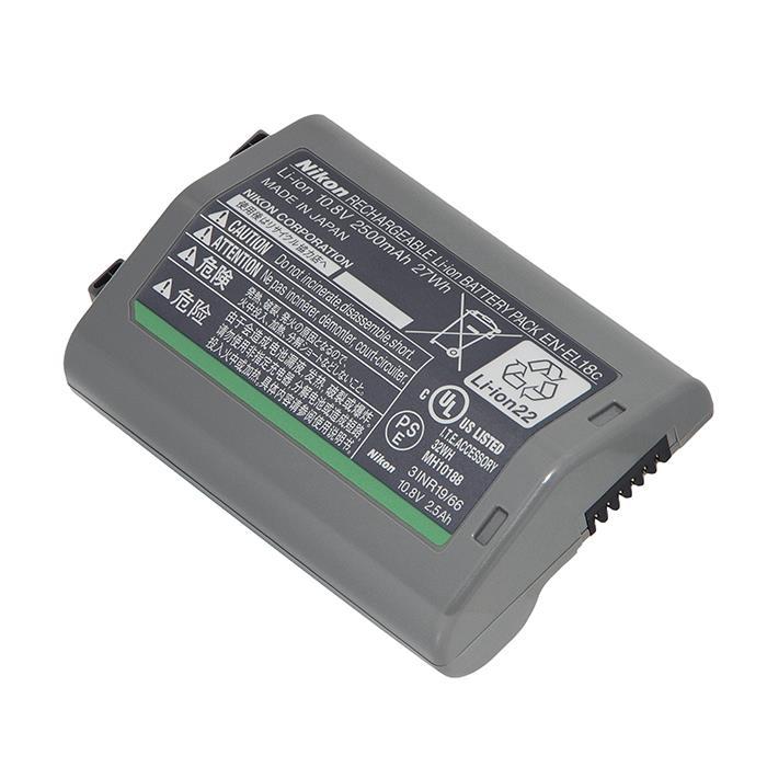 《新品アクセサリー》 Nikon (ニコン) Li-ion リチャージャブルバッテリー EN-EL18c対応機種:D5、D4S、D4、D850(※MB-D18使用時)、D810/D800/D800E(※MB-D12使用時)、D500(※MB-D17使用時)【KK9N0D18P】