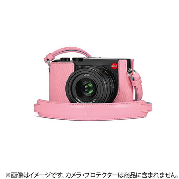 《新品アクセサリー》Leica (ライカ) Q2用 レザーストラップ ピンク 発売予定日:2019年5月【KK9N0D18P】