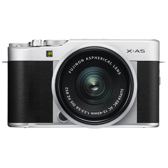 《新品》 FUJIFILM(フジフイルム) X-A5 レンズキット シルバー[ ミラーレス一眼カメラ | デジタル一眼カメラ | デジタルカメラ ] 【¥5,000-キャッシュバック対象】【KK9N0D18P】