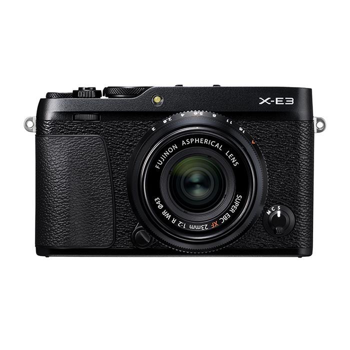 《新品》 FUJIFILM (フジフイルム) X-E3 XF23mm F2 R WRキット ブラック[ ミラーレス一眼カメラ | デジタル一眼カメラ | デジタルカメラ ] 【¥5,000-キャッシュバック対象】【KK9N0D18P】