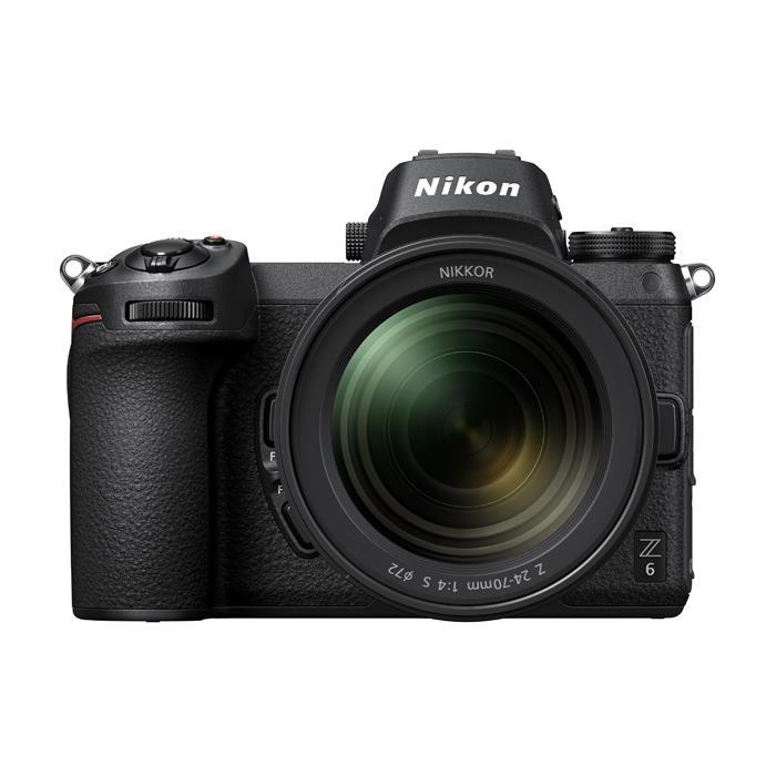 《新品》 Nikon (ニコン) Z6 24-70 レンズキット【発売記念キャンペーン対象/プレミアムシルバーストラップ プレゼント】[ ミラーレス一眼カメラ | デジタル一眼カメラ | デジタルカメラ ]【KK9N0D18P】