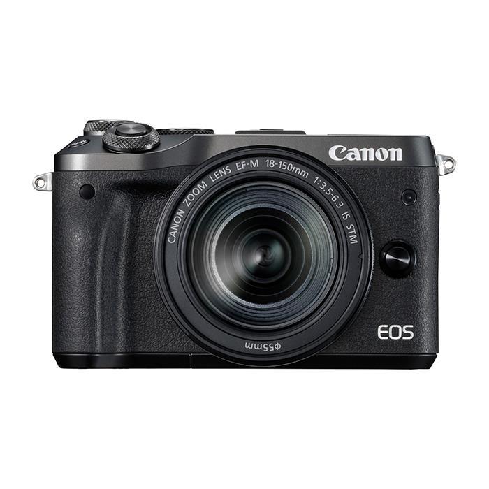 《新品》 Canon (キヤノン) EOS M6 EF-M18-150 IS STM レンズキット ブラック[ ミラーレス一眼カメラ | デジタル一眼カメラ | デジタルカメラ ]【KK9N0D18P】