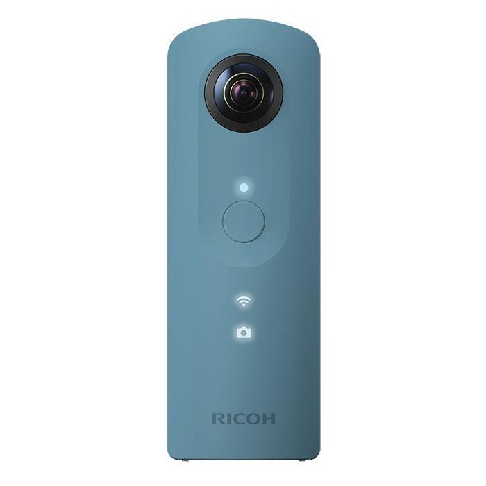 《新品》 RICOH(リコー) THETA SC ブルー[ コンパクトデジタルカメラ ][オススメレンズ一体型カメラ特集]【KK9N0D18P】