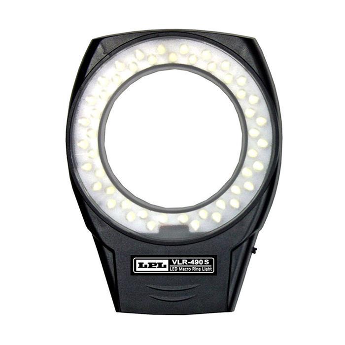 《新品アクセサリー》 LPL (エルピーエル) LEDマクロリングライトVLR-490S【KK9N0D18P】
