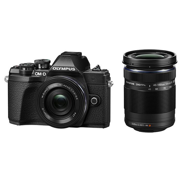 【あす楽】《新品》 OLYMPUS (オリンパス) OM-D E-M10 Mark III EZダブルズームキット ブラック[ ミラーレス一眼カメラ | デジタル一眼カメラ | デジタルカメラ ]【KK9N0D18P】