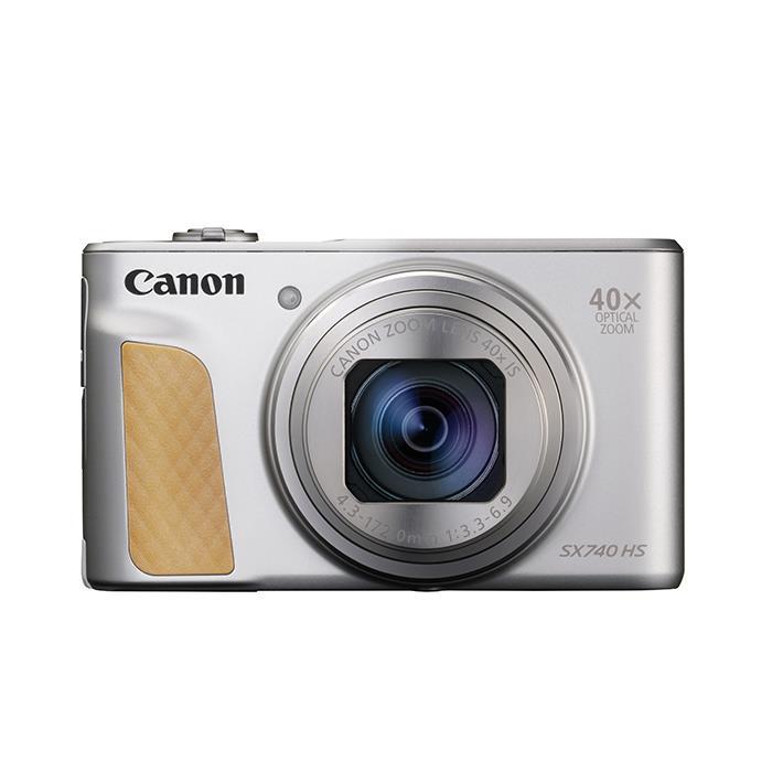 《新品》 Canon (キヤノン) PowerShot SX740 HS シルバー[ コンパクトデジタルカメラ ]【KK9N0D18P】