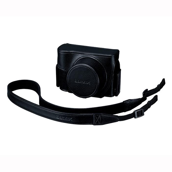 《新品アクセサリー》 Panasonic (パナソニック) ソフトケース DMW-CLXM2 ブラック 【KK9N0D18P】 [ カメラケース ]