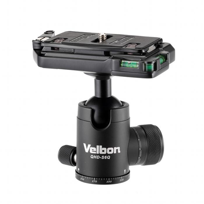 《新品アクセサリー》 Velbon (ベルボン) ボールヘッド雲台 QHD-S6Q【KK9N0D18P】