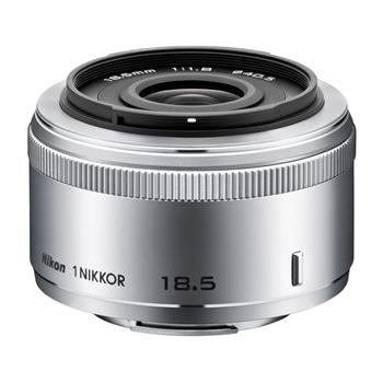 《新品》 Nikon(ニコン) 1 NIKKOR 18.5mm F1.8 シルバー[ Lens | 交換レンズ ]〔レンズフード別売〕【KK9N0D18P】【在庫限り(生産完了品)】