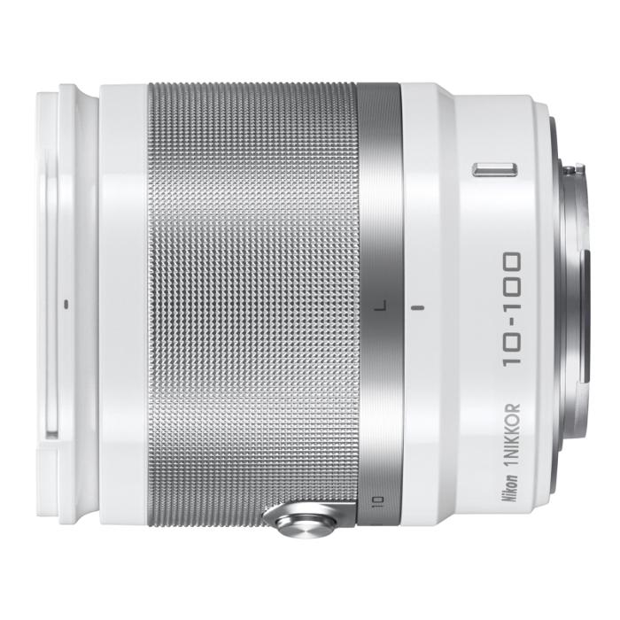 《新品》 Nikon(ニコン) 1 NIKKOR VR 10-100mm F4-5.6 ホワイト[ Lens | 交換レンズ ]〔レンズフード別売〕【KK9N0D18P】