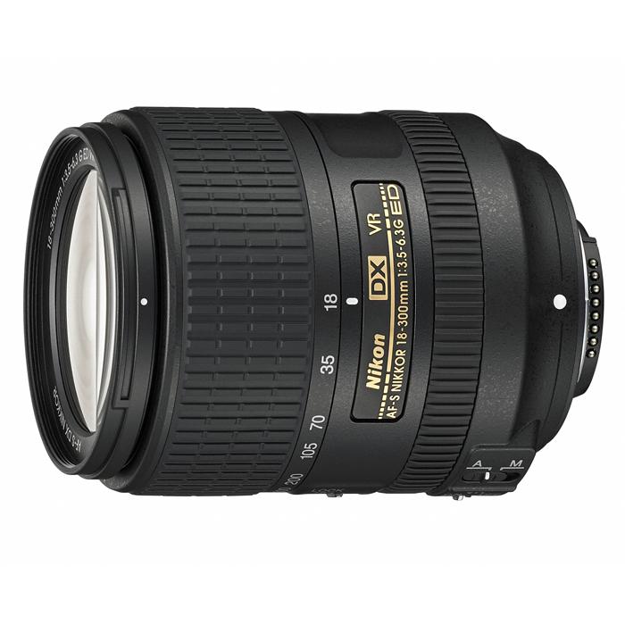 《新品》 Nikon(ニコン) AF-S DX NIKKOR 18-300mm F3.5-6.3G ED VR [ Lens | 交換レンズ ]〔レンズフード別売〕【KK9N0D18P】