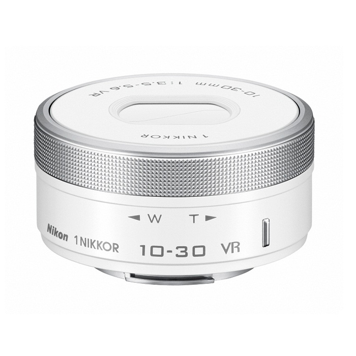 《新品》 Nikon(ニコン) 1 NIKKOR VR 10-30mm F3.5-5.6 PD-ZOOM ホワイト[ Lens | 交換レンズ ]【KK9N0D18P】