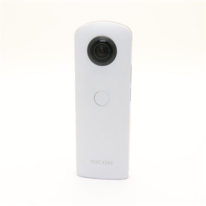 《新品》RICOH(リコー) THETA SC ホワイト[ コンパクトデジタルカメラ ][オススメレンズ一体型カメラ特集]【KK9N0D18P】