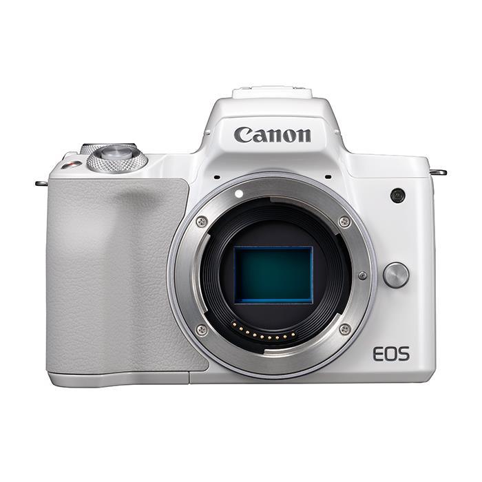 《新品》 Canon (キヤノン) EOS Kiss M ボディ ホワイト[ ミラーレス一眼カメラ | デジタル一眼カメラ | デジタルカメラ ]【KK9N0D18P】【キャッシュバック¥1,000-対象】