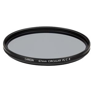 《新品アクセサリー》 Canon(キヤノン) 円偏光フィルターPL-C B 67mm【KK9N0D18P】〔メーカー取寄品〕