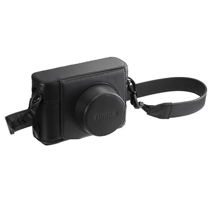 《新品アクセサリー》 FUJIFILM (フジフィルム) レザーケース LC-X100F ブラック【KK9N0D18P】