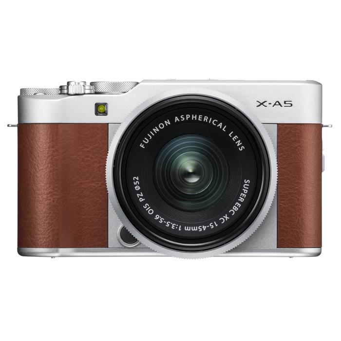 《新品》 FUJIFILM(フジフイルム) X-A5 レンズキット ブラウン[ ミラーレス一眼カメラ | デジタル一眼カメラ | デジタルカメラ ]【KK9N0D18P】
