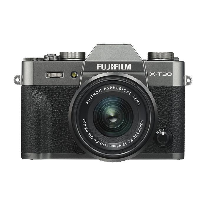 《新品》 FUJIFILM (フジフイルム) X-T30 XC15-45mmレンズキット チャコールシルバー[ ミラーレス一眼カメラ   デジタル一眼カメラ   デジタルカメラ ]【KK9N0D18P】