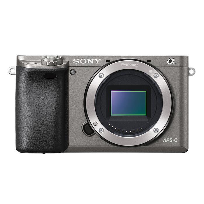 《新品》 SONY α6000ボディ ILCE-6000 H グラファイトグレー 【¥5,000-キャッシュバック対象】[ ミラーレス一眼カメラ | デジタル一眼カメラ | デジタルカメラ ]【KK9N0D18P】